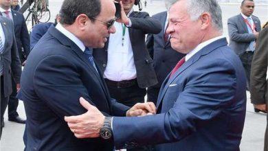 صورة الرئيس السيسي وملك الأردن يناقشان العلاقات الثانية والقضايا الإقليمية
