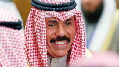 صورة امير الكويت يهنئ بايدن بالفوز بالإنتخابات الأمريكية