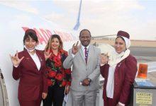 صورة «من القاهرة للسودان».. «رحلة الإنسانية 2» تنطلق بمضيفات من «الصم»| صور