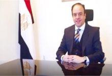 صورة السفير ياسر العطوي: القضية الفلسطينية أولوية في السياسة الخارجية المصرية