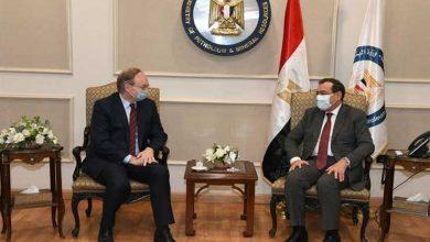 صورة وزير البترول يبحث مع سفير الاتحاد الأوروبي مبادرات الشراكة بمجال الطاقة