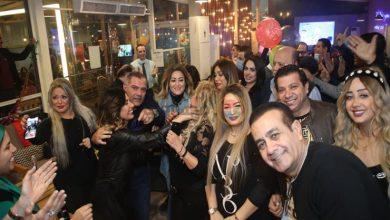 صورة صور وفيديو| أمل رزق تحتفل بعيد ميلادها بحضور نهال عنبر وإيناس عزالدين