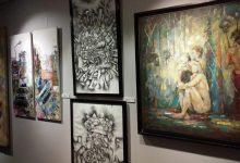"""صورة """"ضي"""" ينشر صور الأعمال التشكيلية لمهرجان """"ما بعد الكورونا"""" قبل ساعات من إفتتاحه"""
