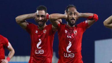 """صورة مصدر لـ""""مصراوي"""": الشناوي وسليمان في جلسة استعادة الثقة مع لاعبي الأهلي"""