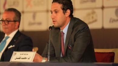 صورة محمد فضل ممثلاً للبنك الأهلي في انتخابات رابطة الأندية
