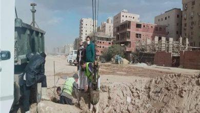 صورة تطهير ورفع كفاءة الصرف الصحي بـ«مدينة نصر»