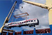 صورة وصول 19 عربة سكة حديد جديدة للركاب إلى ميناء الإسكندرية| صور