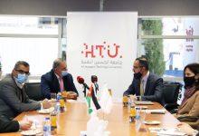 صورة القطامين يزور الحسين التقنية للإطلاع على دور الجامعة في تعزيز توجه الشباب للتدريب المهني