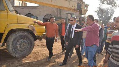 صورة رئيس «تجميل القاهرة»يتفقد ورش الهراسات للمعدات الثقيلة