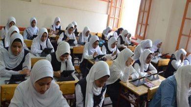 صورة غداً ..طلاب الأول الثانوي يؤدون امتحاني اللغة العربية والأحياء