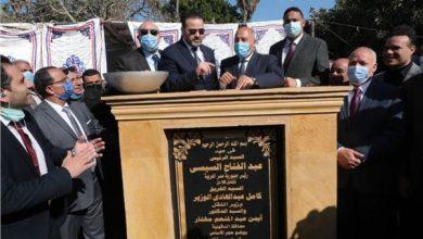 صورة خدمي وترفيهي.. وزير النقل يضع حجر أساس مشروع «تحيا مصر المنصورة»