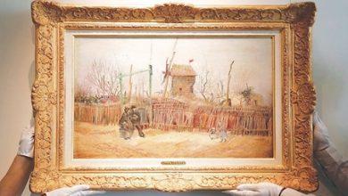 صورة عرض لوحة لفان غوغ بعد أكثر من قرن