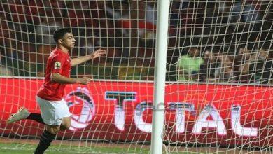 صورة لحظة بلحظة.. المنتخب الأولمبي 1-0 جنوب أفريقيا.. مصطفى محمد يُسجل
