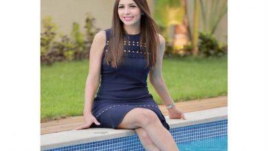 صورة صور  جنات تخضع لجلسة تصوير جديدة أمام حمام السباحة