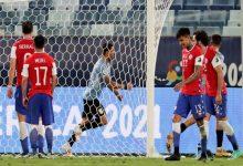 صورة أوروجواي تتعادل مع تشيلي في كوبا أمريكا