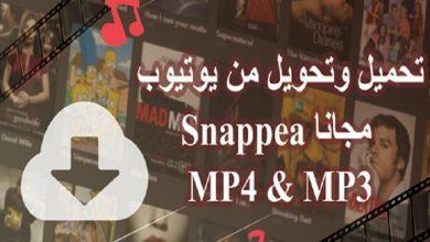 صورة تنزيل فيديو من اليوتيوب مع الأداة الهائلة Snappea – إعلان تحريري