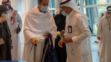صورة مدير مطار المؤسس: وصول 23 رحلة حج.. اليوم  أخبار السعودية
