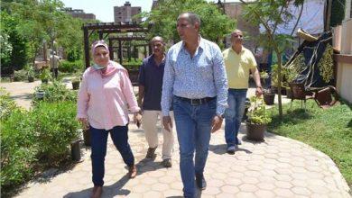 صورة رئيس نظافة القاهرة يتفقد الحدائق العامة للوقوف على السلبيات