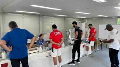 صورة انضمام رباعي الأهلي للمنتخب الأولمبي.. وجولة للفريق في ملعب مباراة إسبانيا