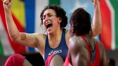 صورة سمر حمزة تخسر في المصارعة بأولمبياد طوكيو
