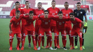 صورة منتخبنا الأولمبي في المجموعة السادسة إلى جانب الأردن وتركمانستان في تصفيات كأس آسيا
