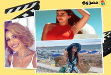"""صورة رانيا يوسف بـ""""البرنيطة"""" ومنة فضالي بملابس صيفية.. 10 لقطات لنجوم الفن في 24 ساعة"""