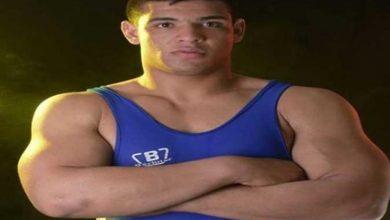 صورة منيع يخسر في المصارعة الرومانية بالأولمبياد