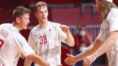 صورة كرة اليد.. الدنمارك تعبر لنصق نهائي أولمبياد طوكيو على حساب النرويج