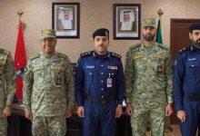 صورة مدير العلاقات العامة والإعلام يستقبل وفدا من الحرس الوطني