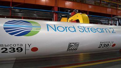 """صورة تلحيم أنبوب الغاز الأخير من مشروع """"التيار الشمالي 2"""".. فيديو"""