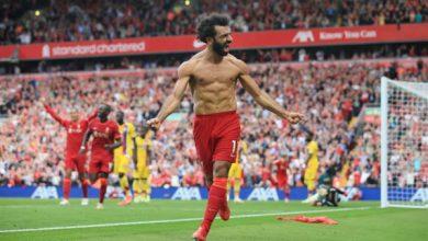 صورة شاهد أهداف مباراة ليفربول وكريستال بالاس في الدوري الإنجليزي.. تألق صلاح