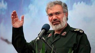 صورة الحرس الثوري الإيراني ساخرا :التحالف  يتوسل إلينا للخروج من أزمة اليمن