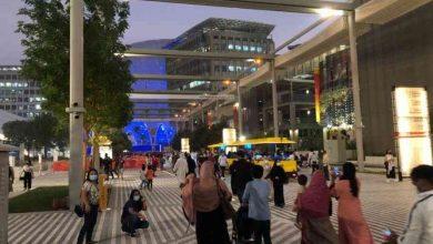 صورة في تشغيل تجريبي.. إكسبو 2020 دبي يستقبل آلاف الزوار