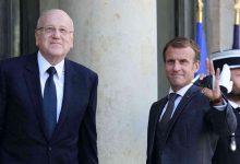 """صورة توافق بين ماكرون وميقاتي حول الإصلاحات """"العاجلة"""" في لبنان"""