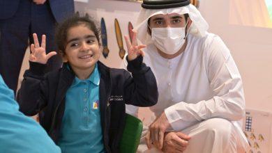 صورة حمدان بن محمد يزور مدارس دبي فرع البرشاء ويوجه بالتوسع في المشروع الواعد