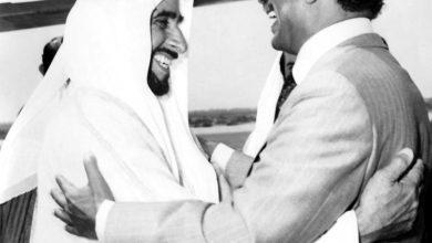 صورة الشيخ زايد.. مواقف خالدة في دعم مصر