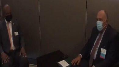 صورة وزير الخارجية يلتقي نظيره الصومالي لمناقشة القضايا المشتركة