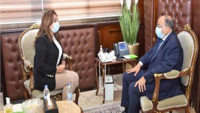 صورة منال عوض : ٣ مليار جنيه تكلفة مشروعات حياة كريمة بدمياط