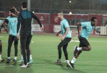 """صورة مصدر لـ""""مصراوي"""": بيرسي تاو يعود لتدريبات الأهلي بعد 14 يوماً"""