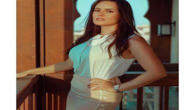 صورة رشا مهدي بالأبيض في جلسة تصوير جديدة (صور)