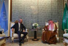 صورة   وزير الخارجية يلتقي المبعوث الأمريكي الخاص لشؤون إيران