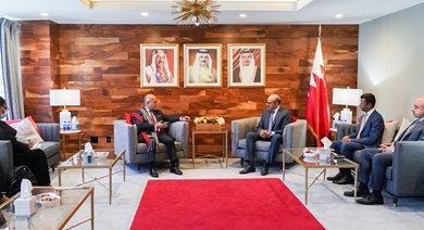 صورة وزير الخارجية يجتمع مع وزير خارجية جمهورية مدغشقر
