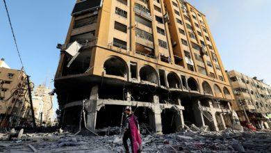 صورة بلدية غزة: بدء تطبيق خطة مرورية مؤقتة بسبب أعمال إزالة برج الجوهرة
