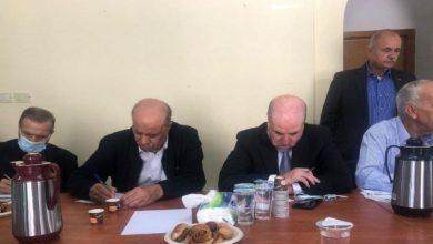 """صورة حماس: استمرار السلطة في اللقاءات مع قادة صهاينة """"جريمة وطنية وأخلاقية """""""