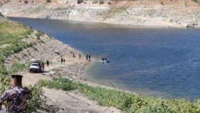 صورة فقدان صياد في سد الملك طلال