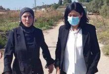 صورة الاحتلال الإسرائيلي يفرج عن الأسيرة الفلسطينية خالدة جرار  فيديو وصور