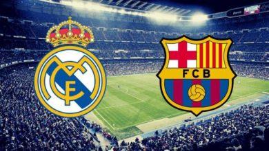 صورة تشكيلة كلاسيكو فريق ريال مدريد وبرشلونة 2021 .. القنوات الناقلة وموعد العرض .