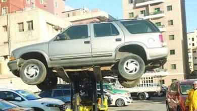 صورة رفع 136 سيارة وتحرير 70 مخالفة نظافة في حولي