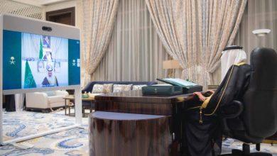 صورة أمام خادم الحرمين الشريفين.. وزير الصحة يؤدي القسم  أخبار السعودية