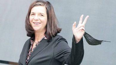 صورة أول امرأة من «حزب الخضر» ترأس البرلمان الألماني  أخبار السعودية